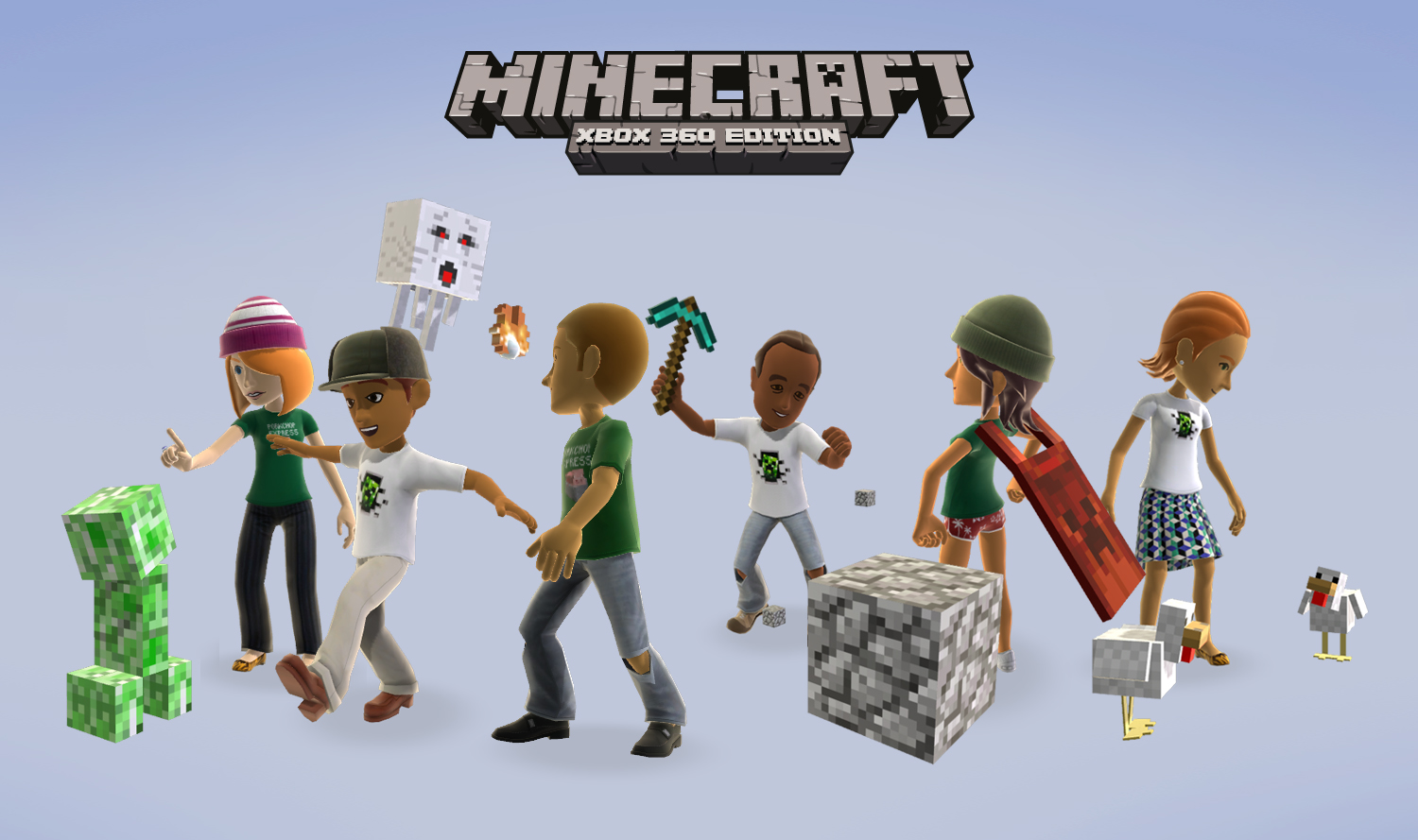 Minecraft: Xbox 360 Edition Out Now!   Xbox Insider